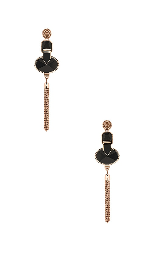 Samantha Wills Heart Wonder Drop Earrings in Metallic Copper