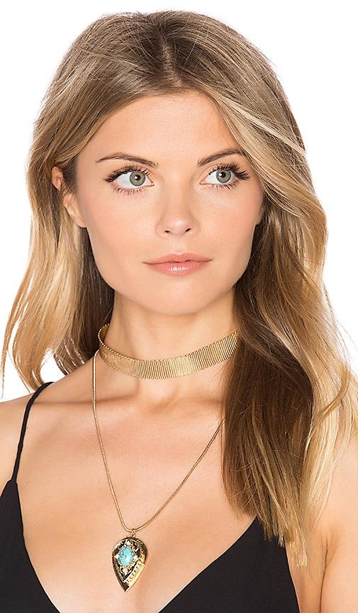 Samantha Wills Nightfall Lustre Pendant Necklace in Metallic Gold