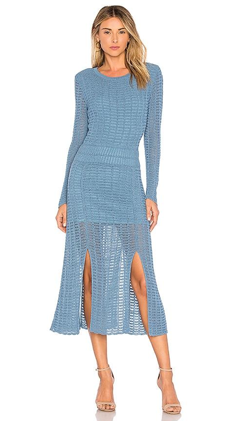 e8f3913ddd2 Tabula Rasa Mineras Sweater Dress in Slate Blue