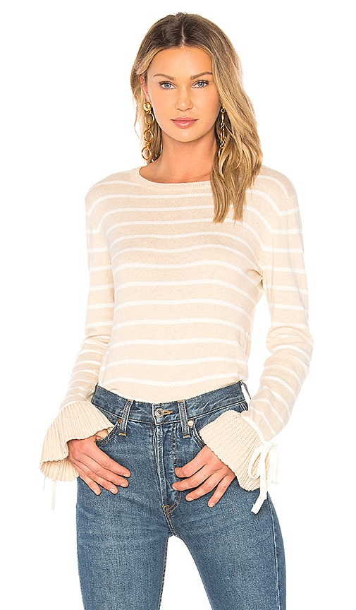 Tabula Rasa Temera Stripe Sweater in Beige
