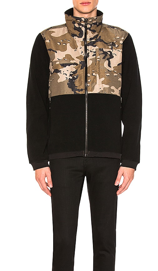 The North Face Denali 2 Jacket in Black,Abstract