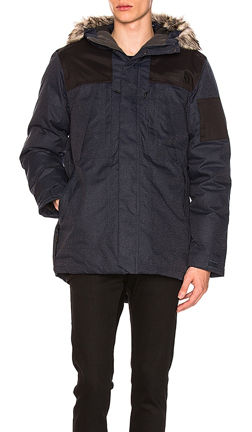The North Face Outer Boroughs Parka With Faux Fur Trim in Blue