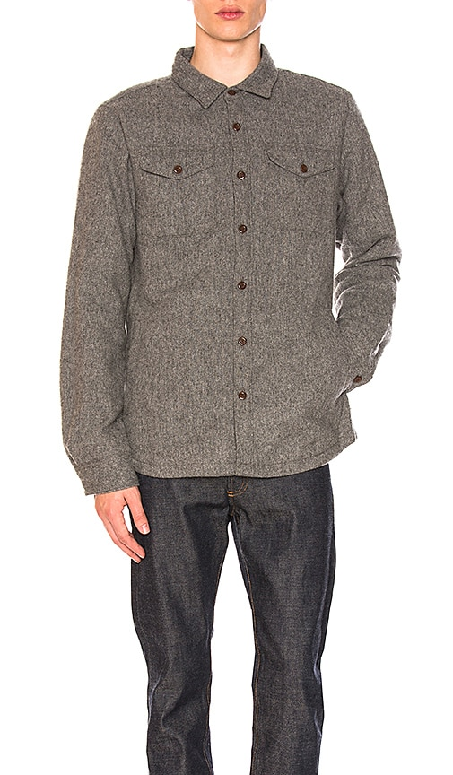 The North Face Cabin Fever Wool Shirt in Gray