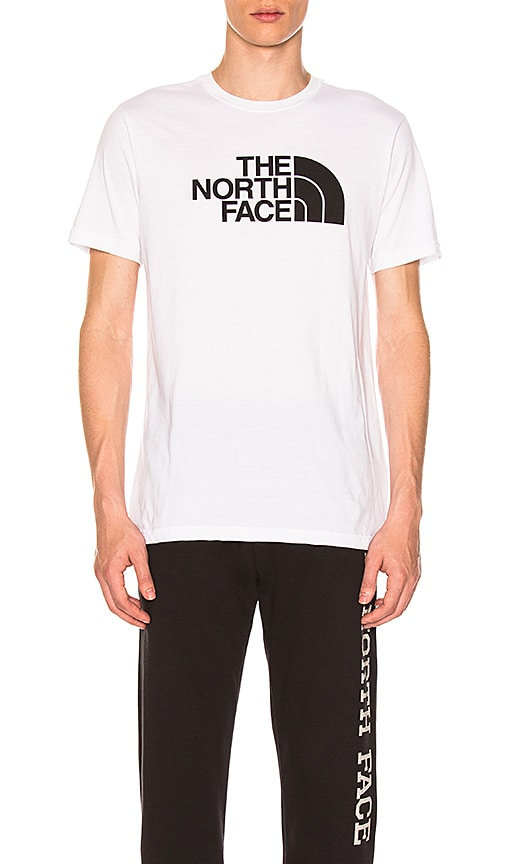 The North Face Half Dome Tri-Blend Tee in White