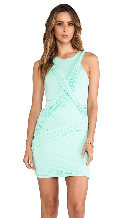 Swing On High Neck Body-Con Dress