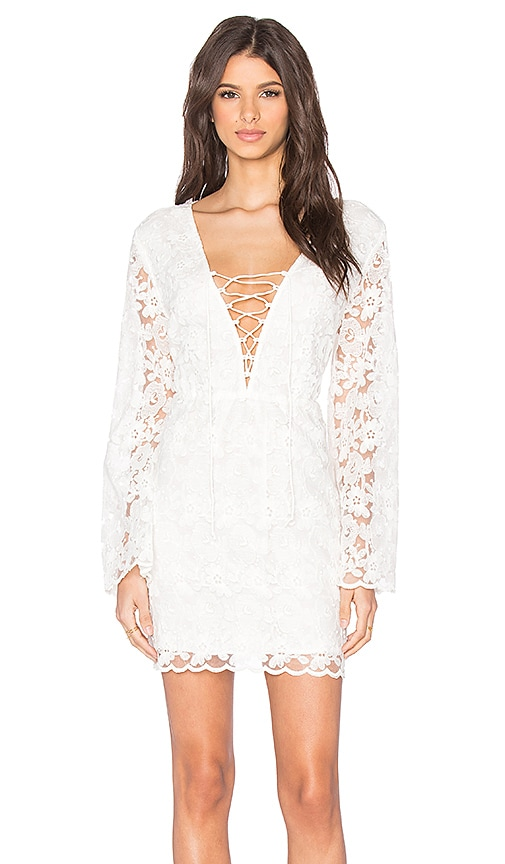Talulah Lost Souls Mini Dress in White