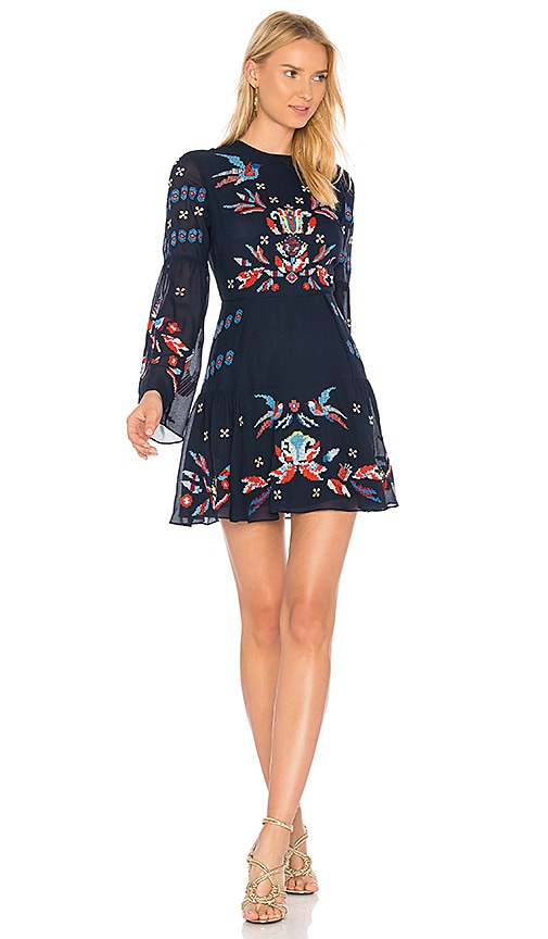 Tanya Taylor Izzy Dress in Blue