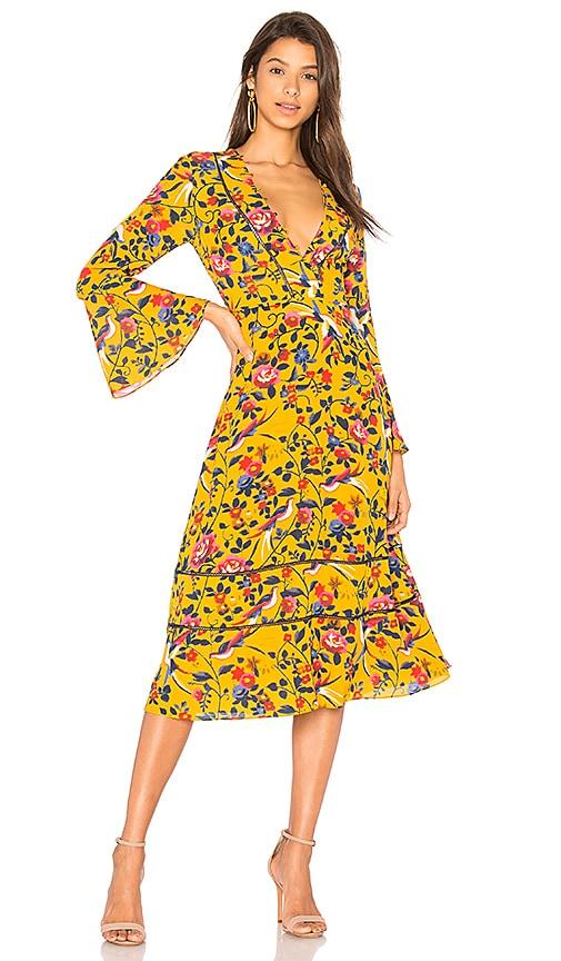 Tanya Taylor Idella Dress in Yellow