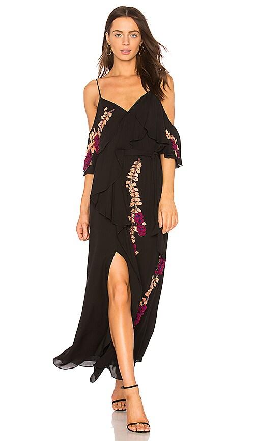 Tanya Taylor Lorena Dress in Black
