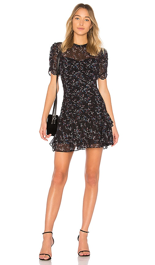 Tanya Taylor Carti Dress in Black