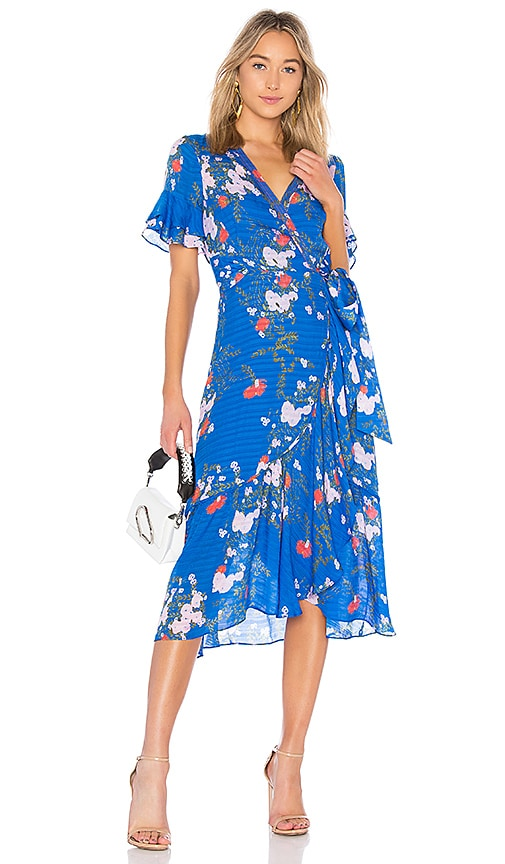 Tanya Taylor Blaire Dress in Blue