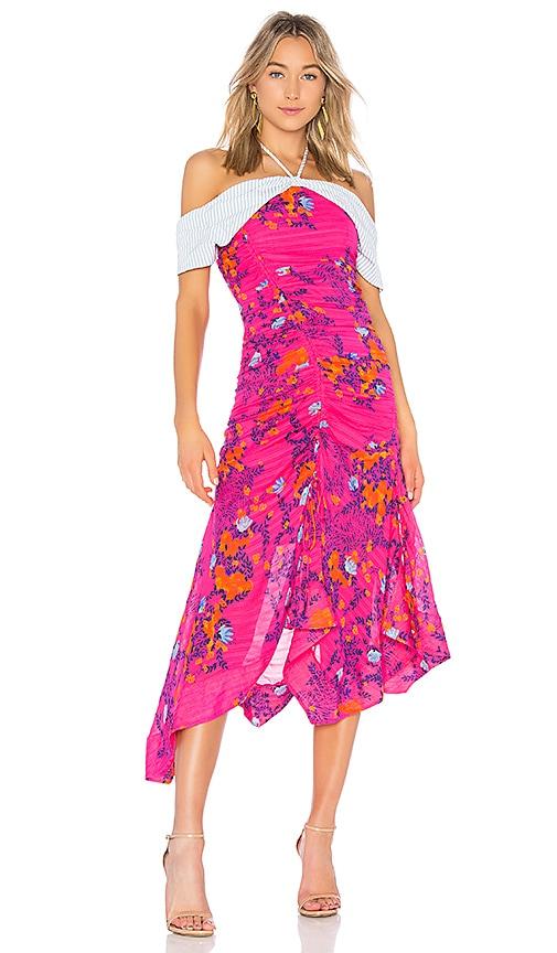 Tanya Taylor Virginia Dress in Pink