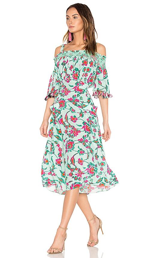 Tanya Taylor Amber Dress in Mint