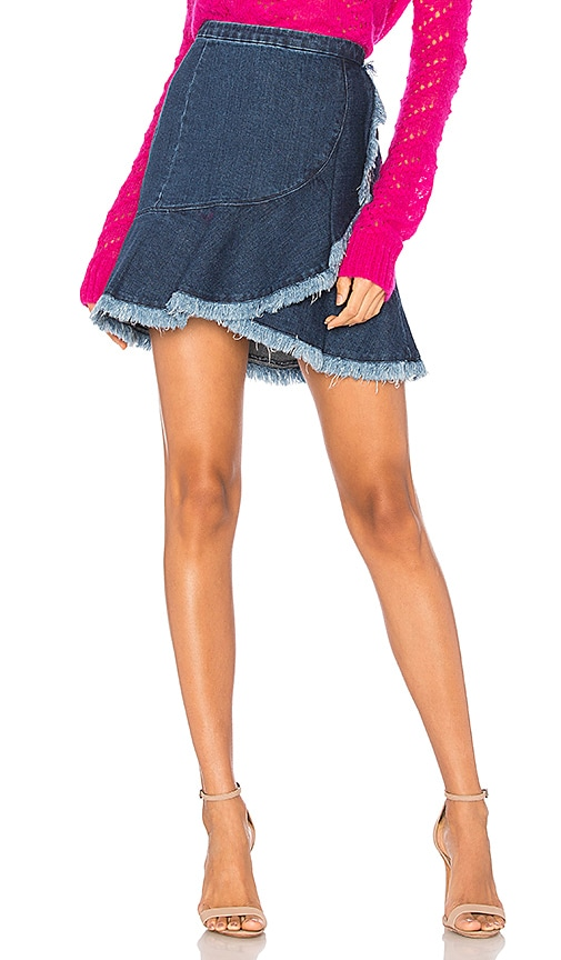 Tanya Taylor Tamy Skirt in Indigo