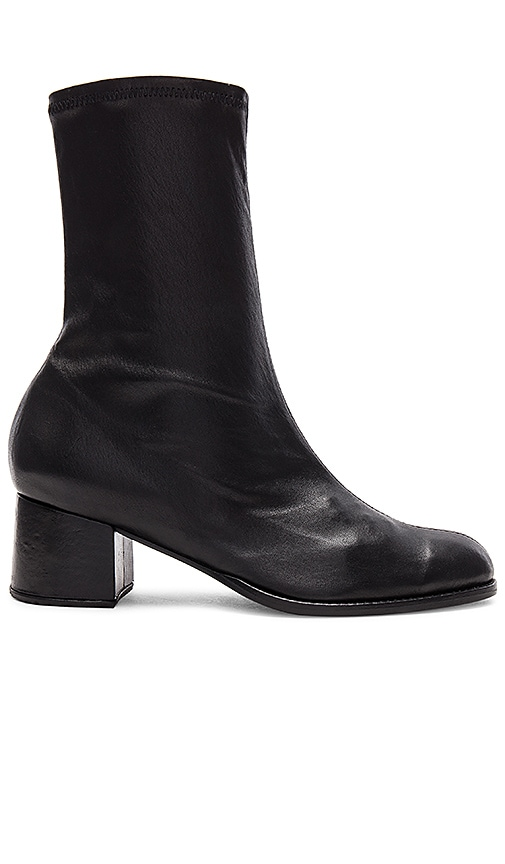 The Archive Greenwich Leather Boot in Black