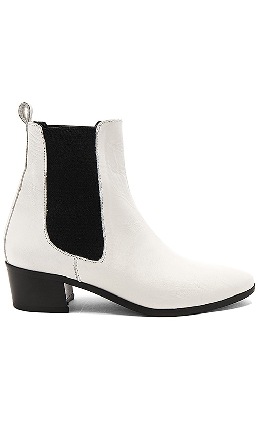The Archive Mercer Leather Boot in White