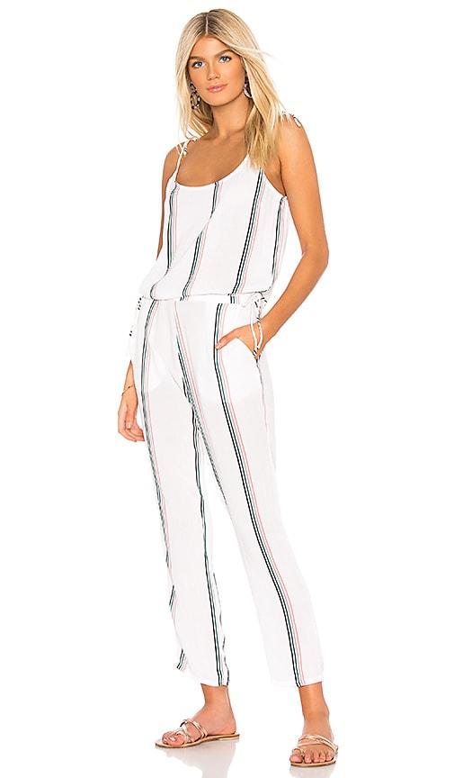 5b5be461259 TAVIK Swimwear Preston Jumpsuit in White   Coral Stripe