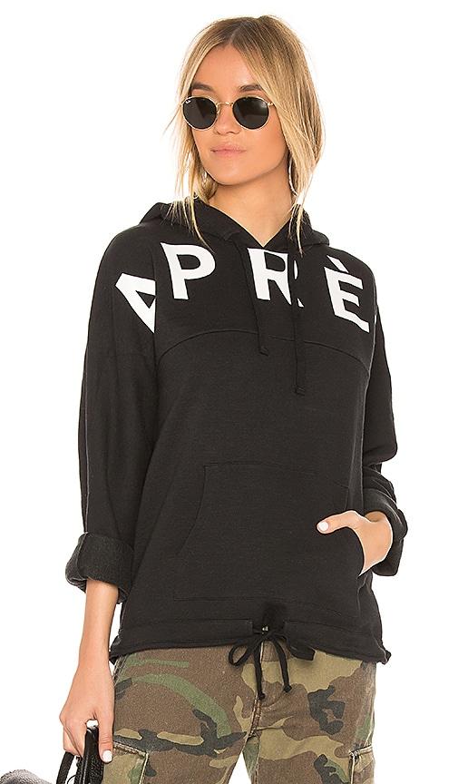 TAVIK Swimwear Apres Hoodie in Black