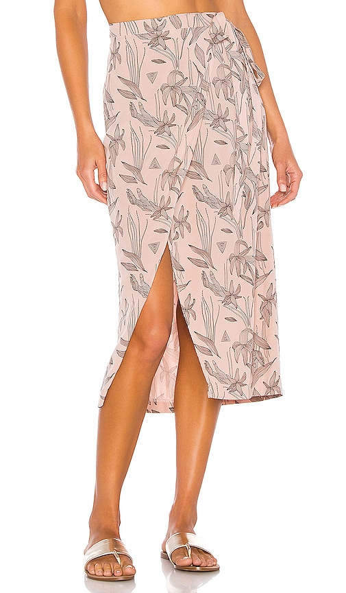 Alan Wrap Skirt