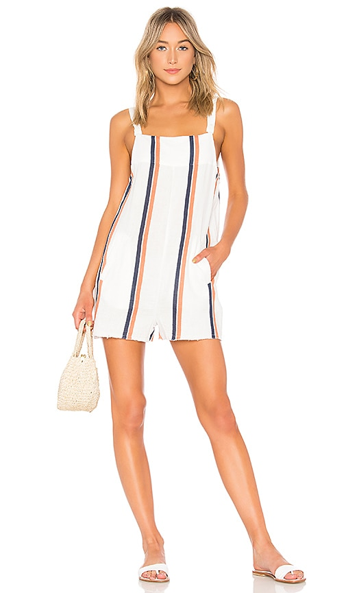 TAVIK Swimwear Caden Romper in White