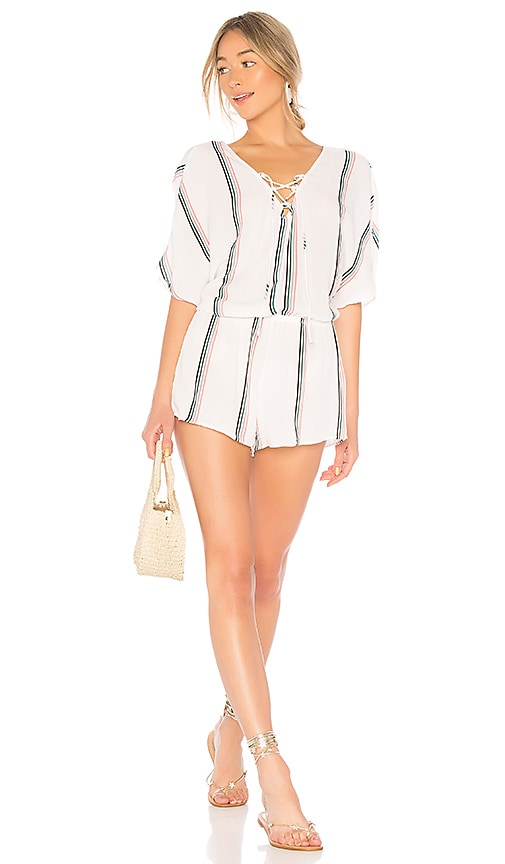 TAVIK Swimwear Harmony Romper in White