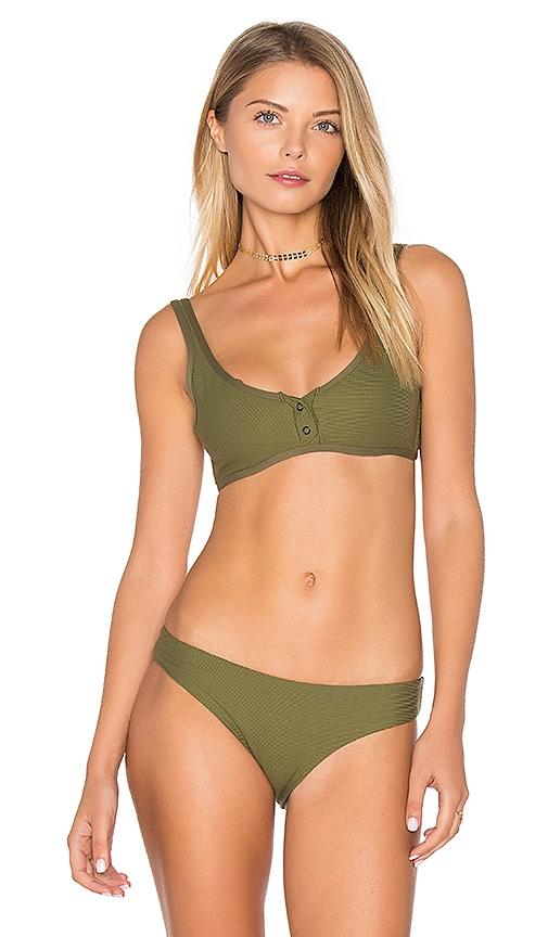 TAVIK Swimwear Marlowe Bikini Top in Olive