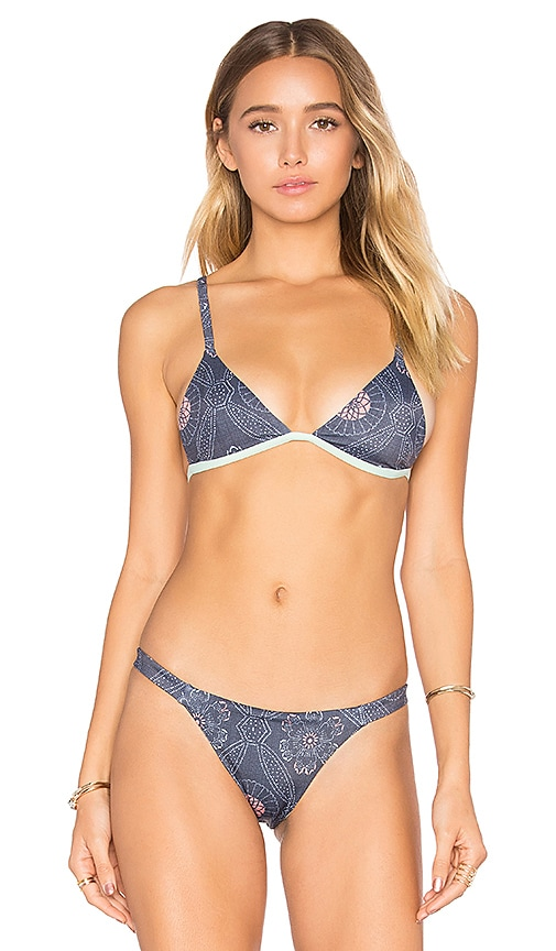 TAVIK Swimwear Zepplin Top in Blue