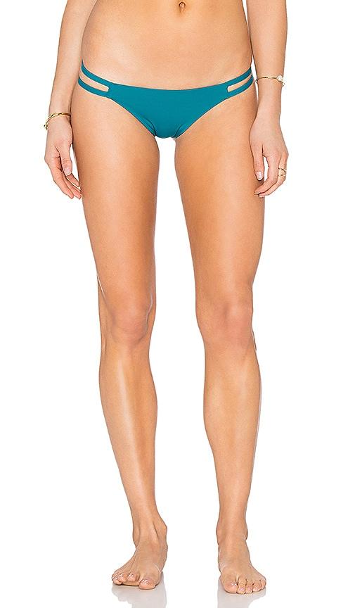 TAVIK Swimwear Vine Bikini Bottom in Teal