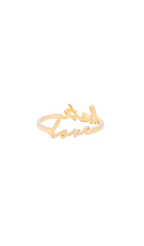 Love Hate Double Sided Ring