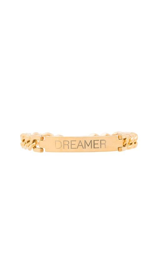Engraved Dreamer ID Bracelet