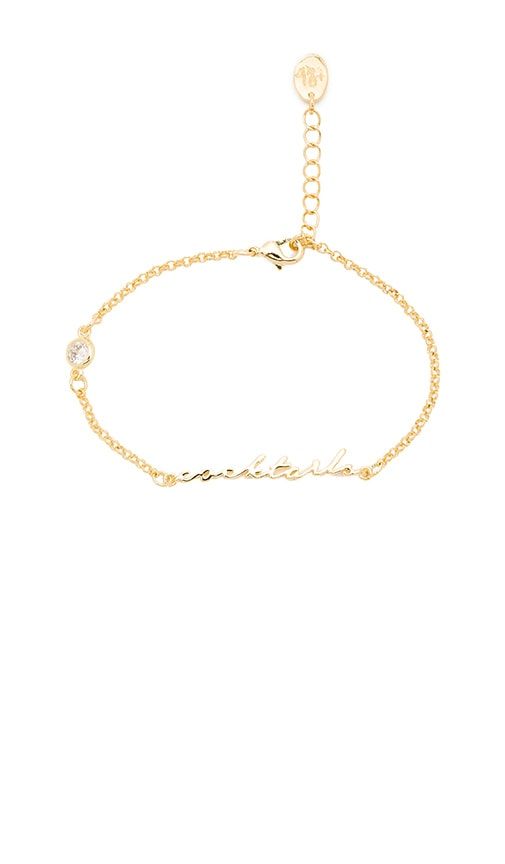 Tawnie & Brina Cocktails Bracelet in Metallic Gold