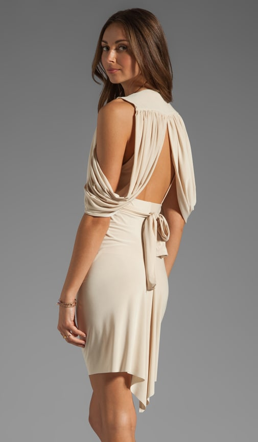 Drape Back Dress