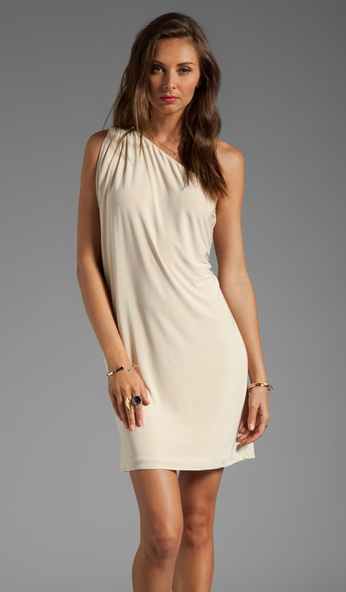 One Shoulder Mini Dress