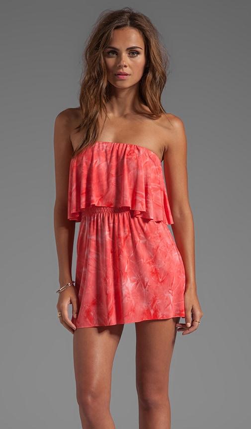 Strapless Cutout Mini Dress