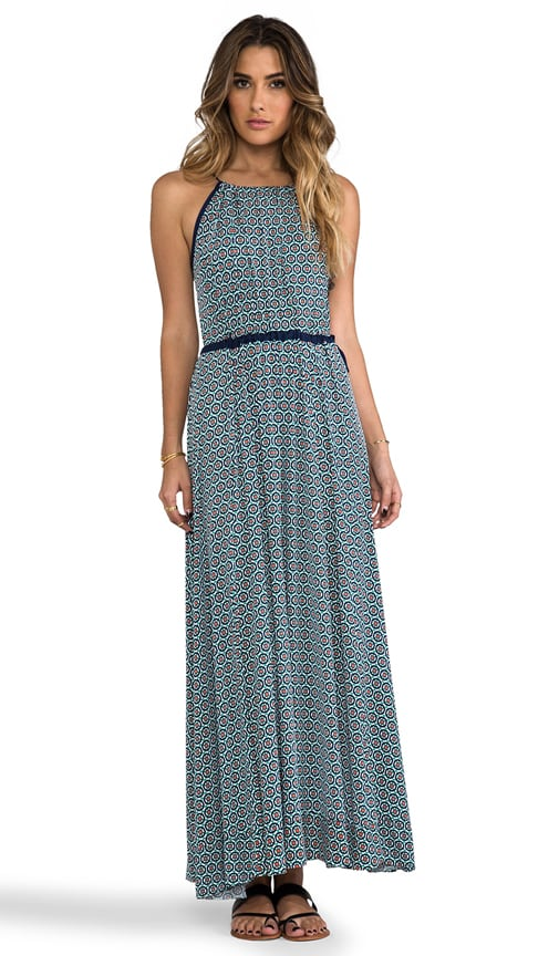 Tank Maxi Dress with Tonal Hem