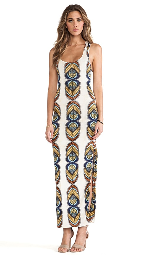 Racer Back Maxi Dress w/ Slits