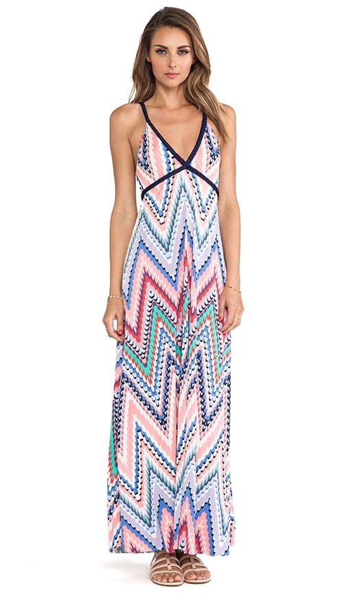 Wrap Around Tie Maxi Dress