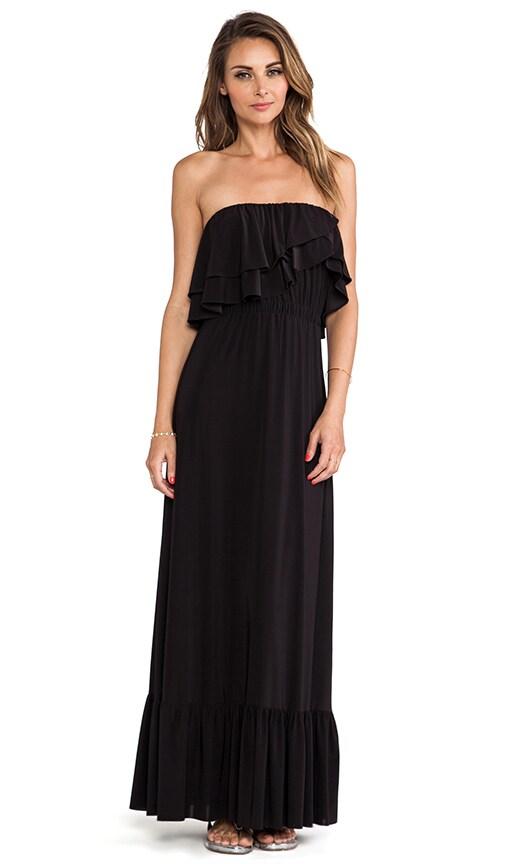 Strapless Ruffle Top Dress