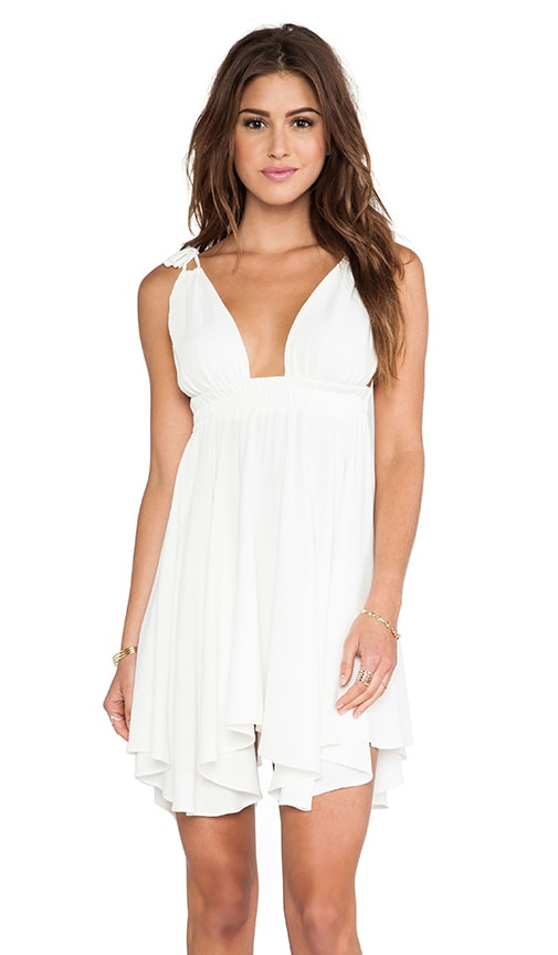 Flirty Hem Tank Dress