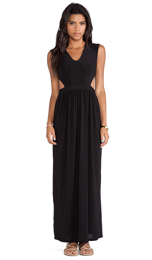 Side Cut Out Maxi Dress