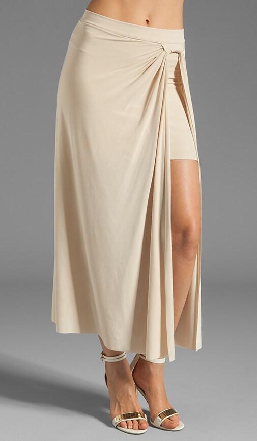 Slit Front Maxi Skirt