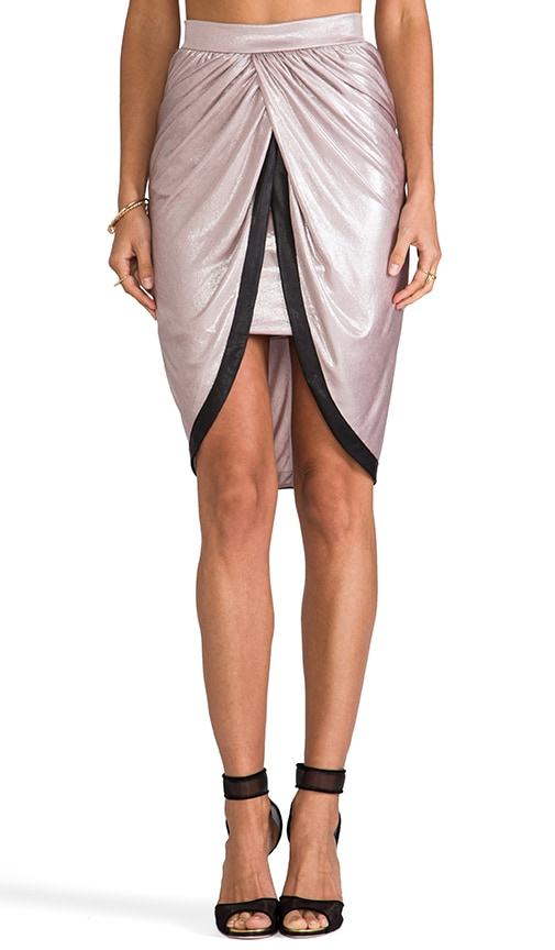 Satin Knot Skirt