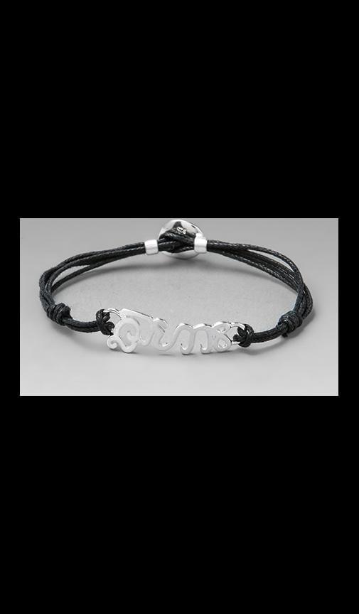 Silver Cord Bracelet