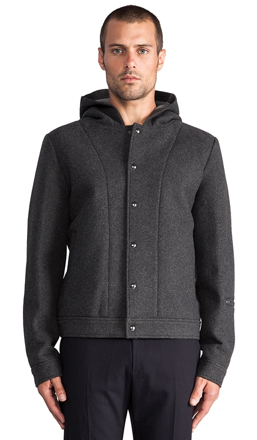 Wool Bonded Neoprene Jacket