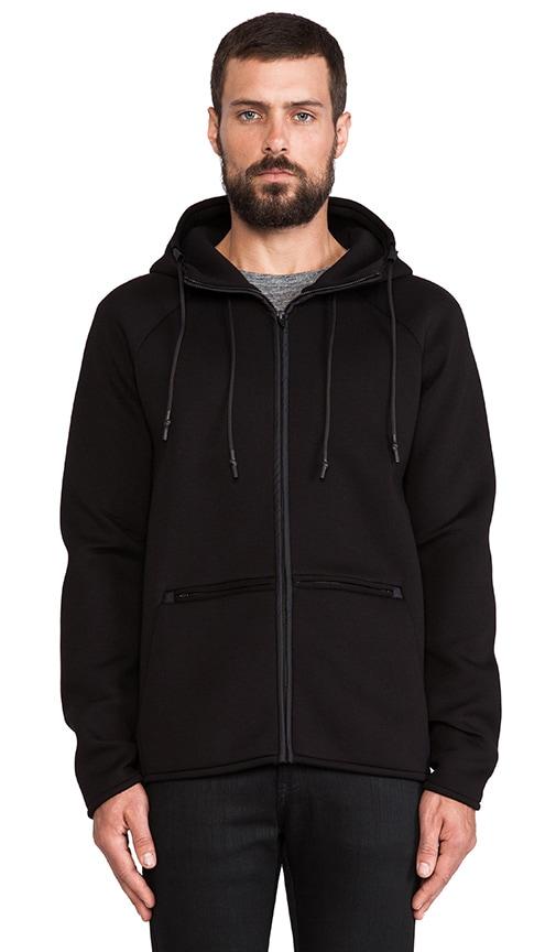 Scuba Double Knit Hooded Sweatshirt