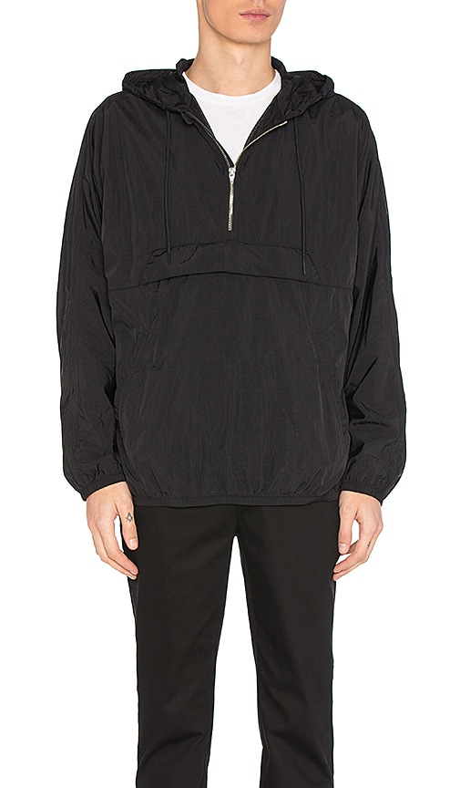 T by Alexander Wang Beach Anorak in Black