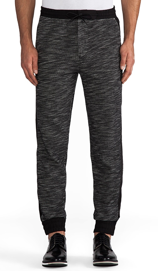 French Terry with Matte Nylon Sweatpants