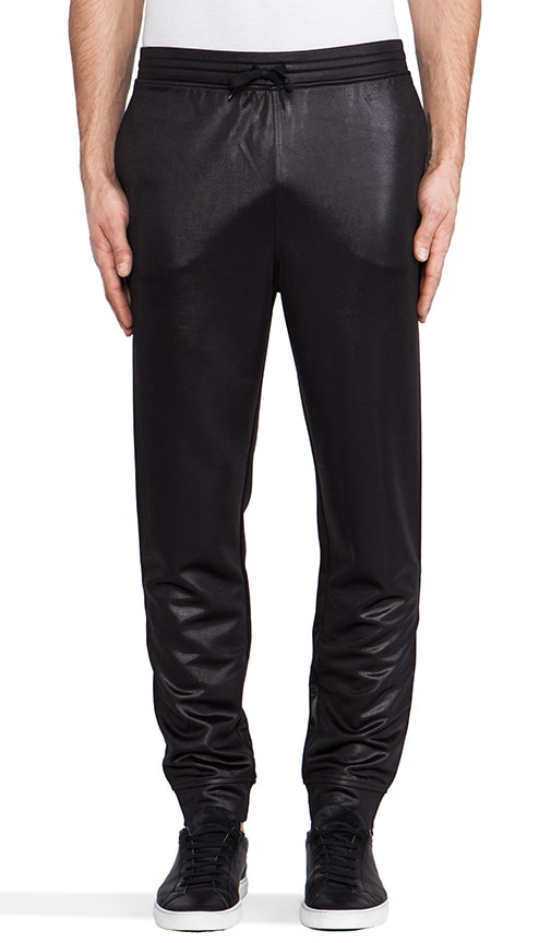 Shiny Double Face Knit Sweatpants