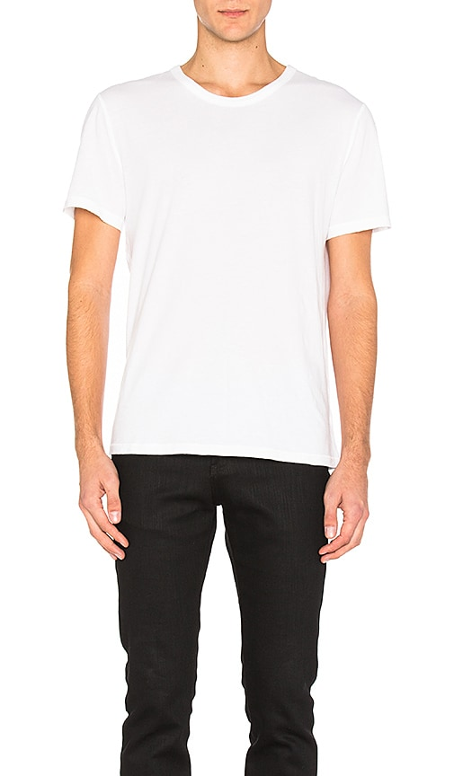 T by Alexander Wang Classic Short Sleeve Tee in White