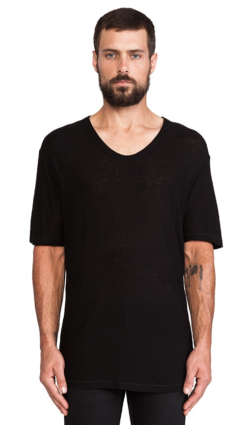 Pilly Low Neck Tee